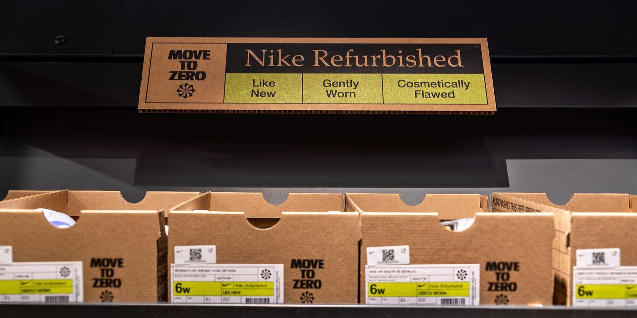 Nike launches refurbished sneaker program