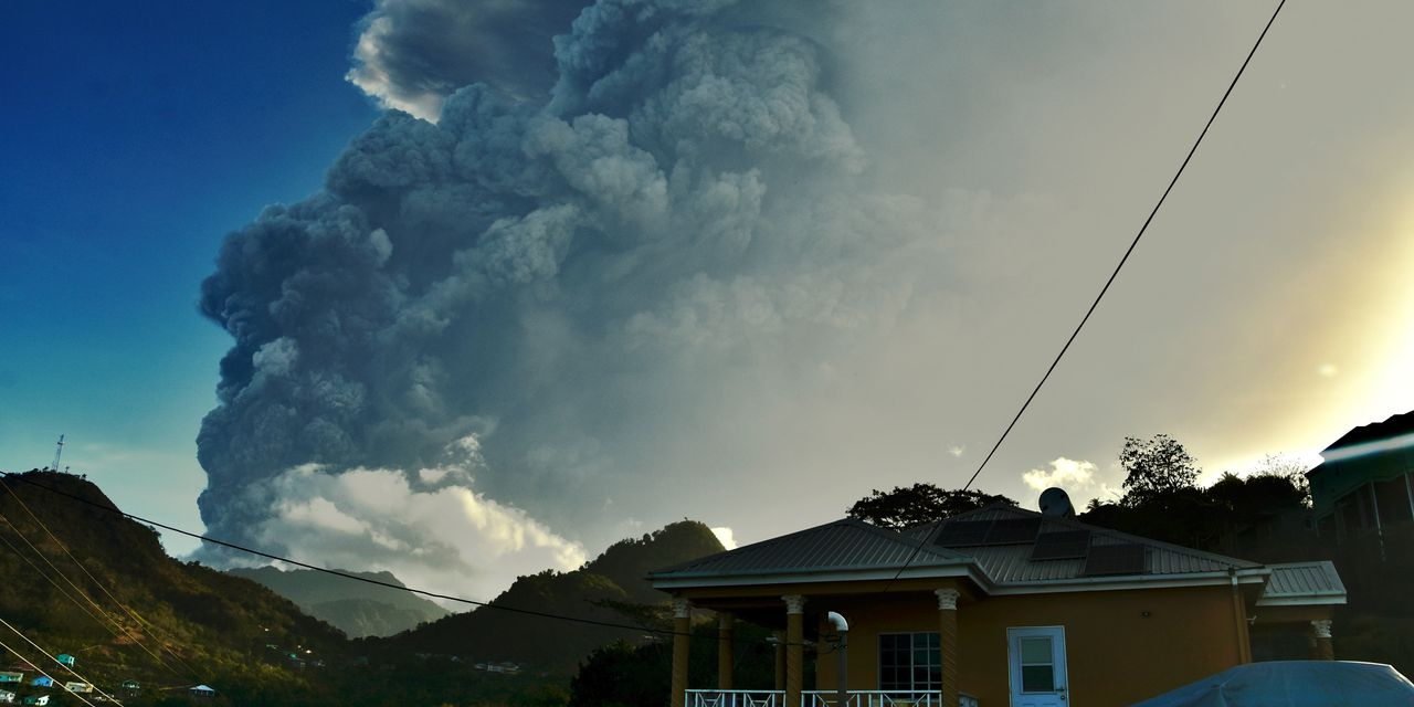 St. Vincent seeks water, funds as volcano keeps erupting - MarketWatch