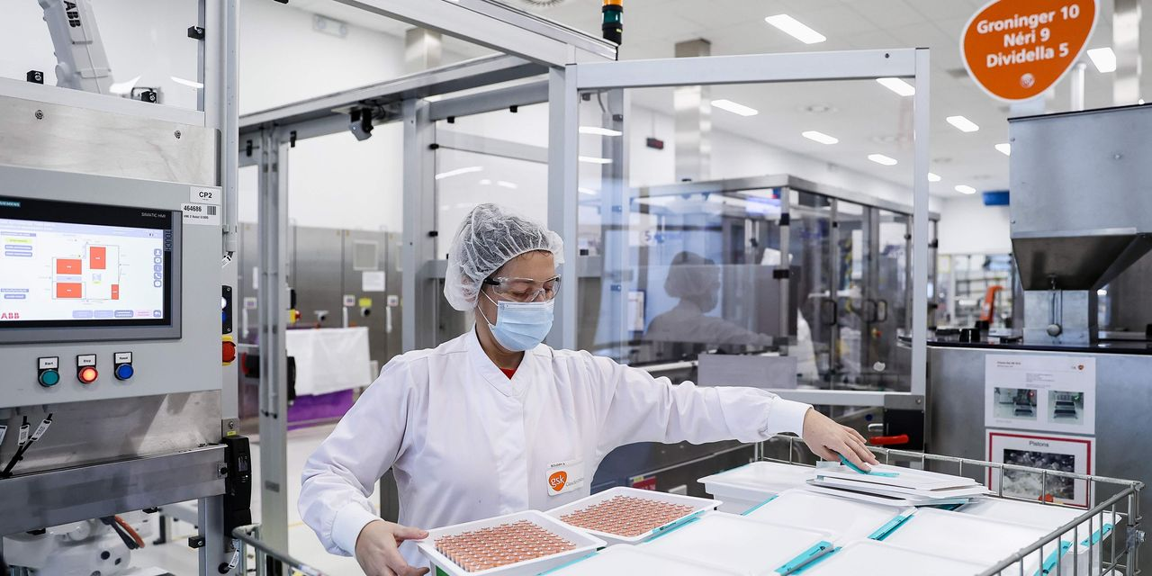 GlaxoSmithKline shares growth based on reports that Elliott Management is building a stake