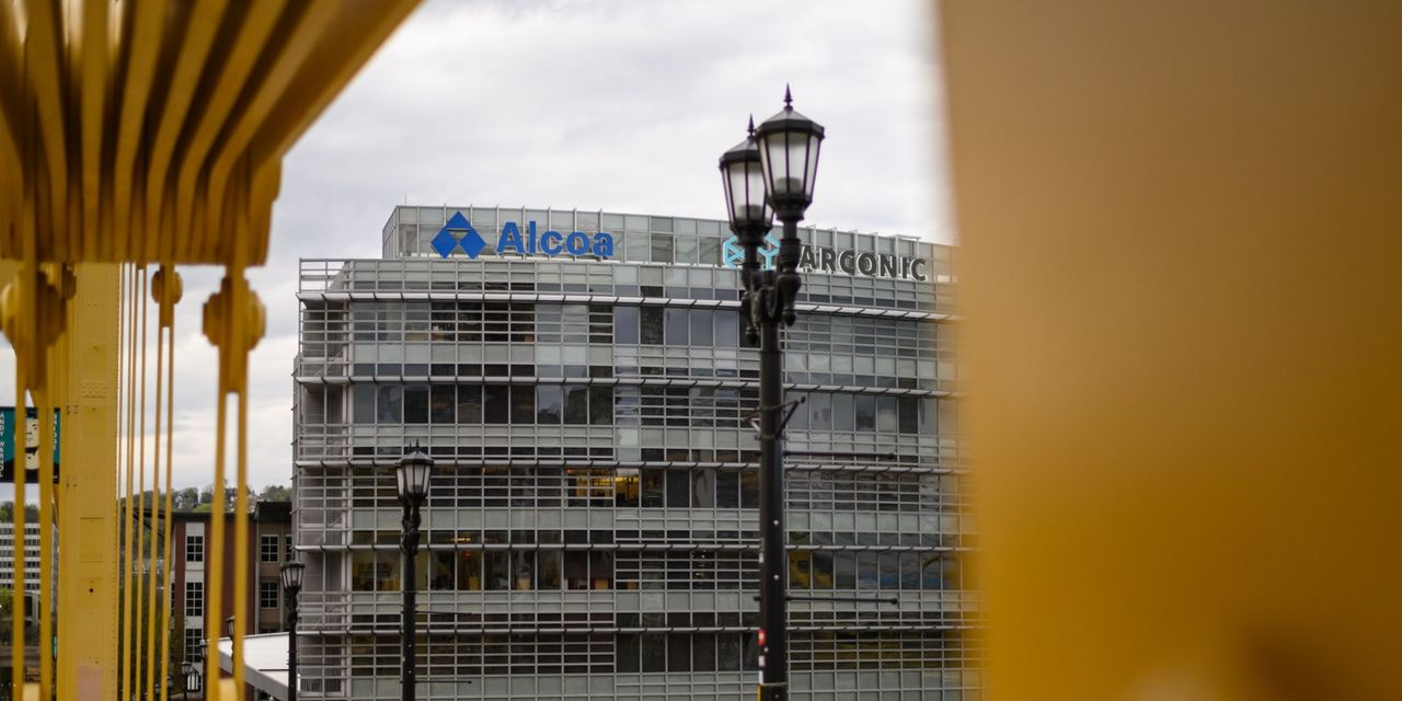 Alcoa says first quarter delivered strongest sales and profit in two years