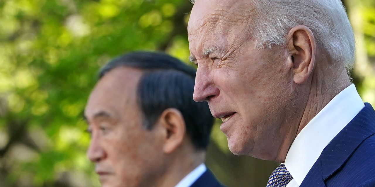 Biden, Suga vow to jointly confront 'challenges' from China