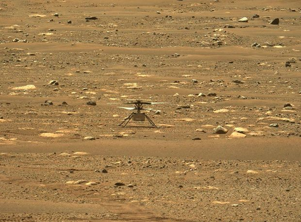 NASA NASA's Mars helicopter takes flight, 1st for another planet - MarketWatch
