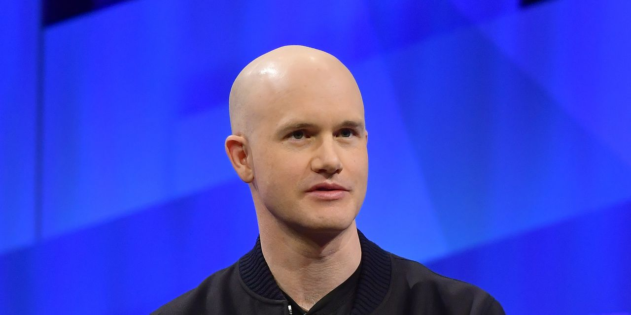 Coinbase CEO Brian Armstrong raised more than $290 million with share sales, and Fred Ehrsam raised nearly $112 million