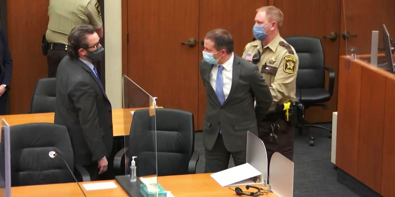 Former police officer Derek Chauvin found guilty of murder in George Floyd's death