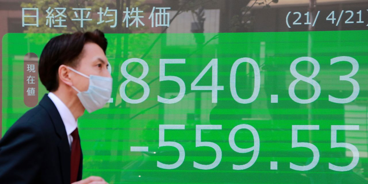 Asian markets are declining due to worsening coronavirus outbreaks