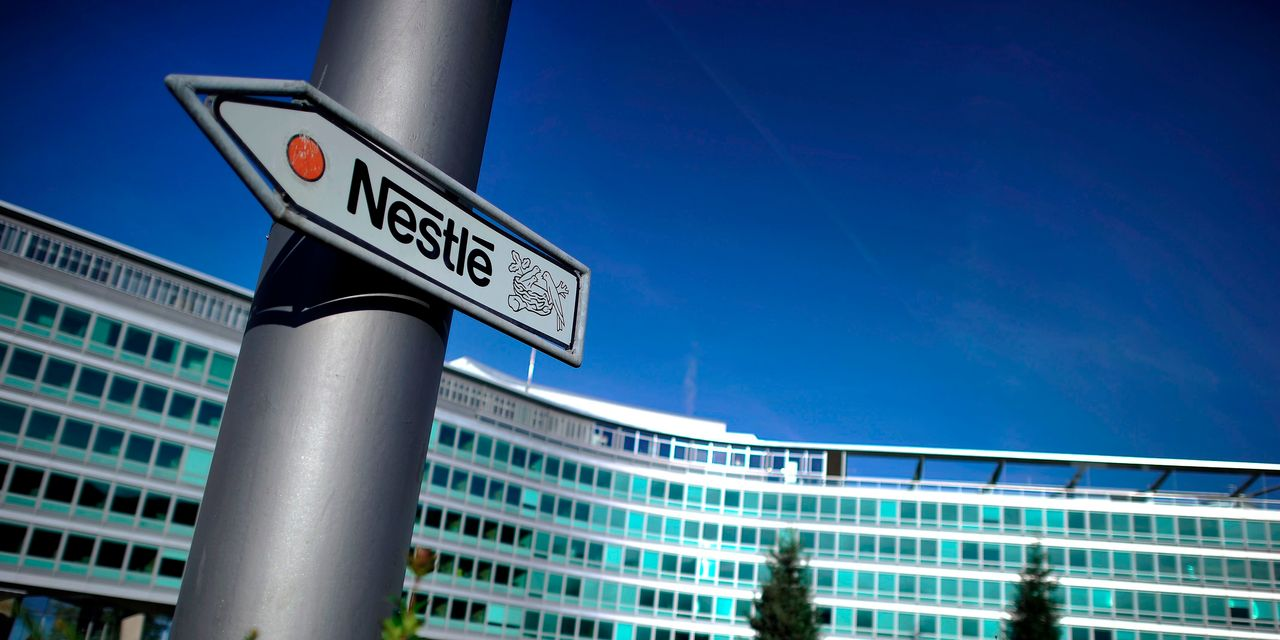 European stocks rise as Nestlé leads strong earnings wave; Credit Suisse slumps