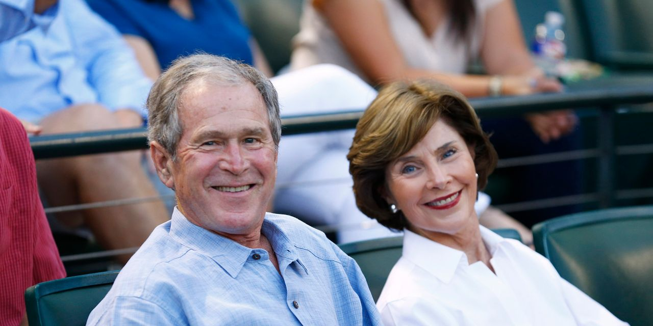 From their Texas Ranch, George and Laura Bush start at the beginning