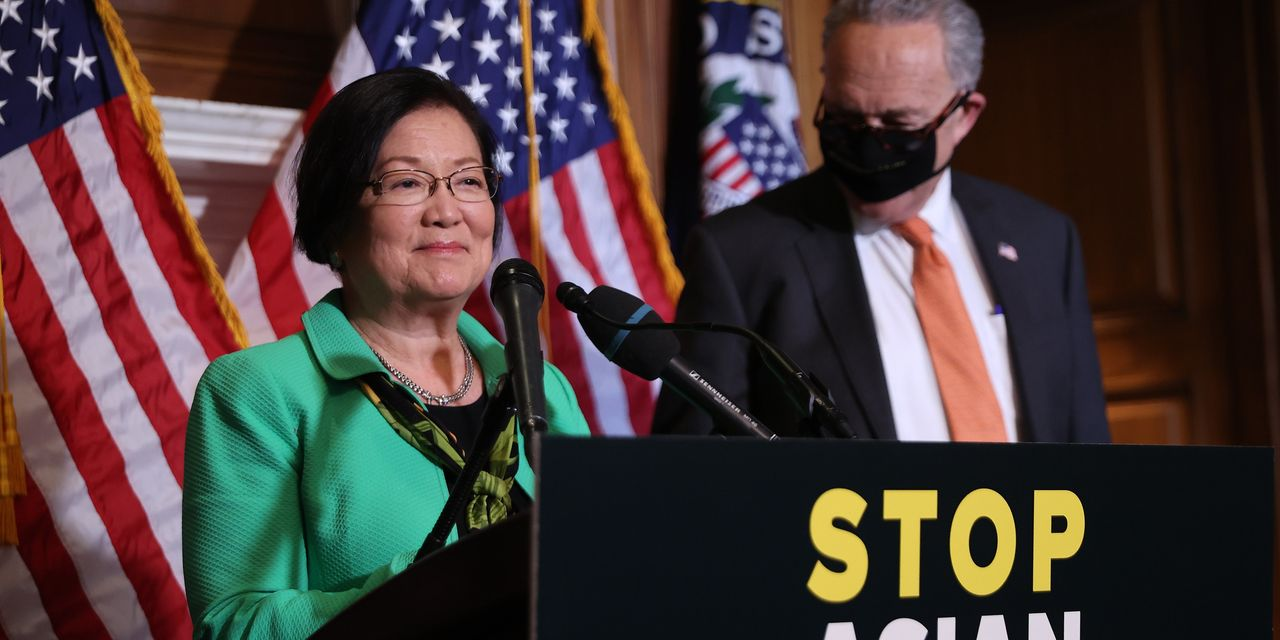 Anti-hate-crimes bill spurred by attacks on Asian Americans passes Senate overwhelmingly
