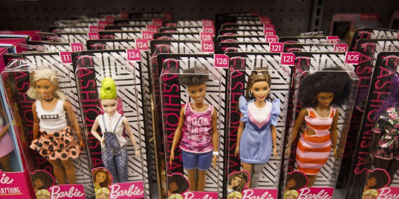 Mattel swings to surprise quarterly profit as sales rise 40%