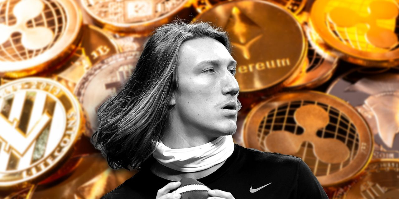 Trevor Lawrence, expected to be the No. 1 pick in the NFL draft, signs endorsement deal with crypto app Blockfolio