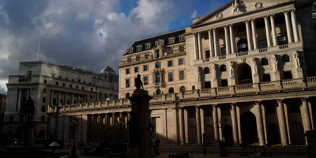 Bank of England says it will slow bond-purchase rate