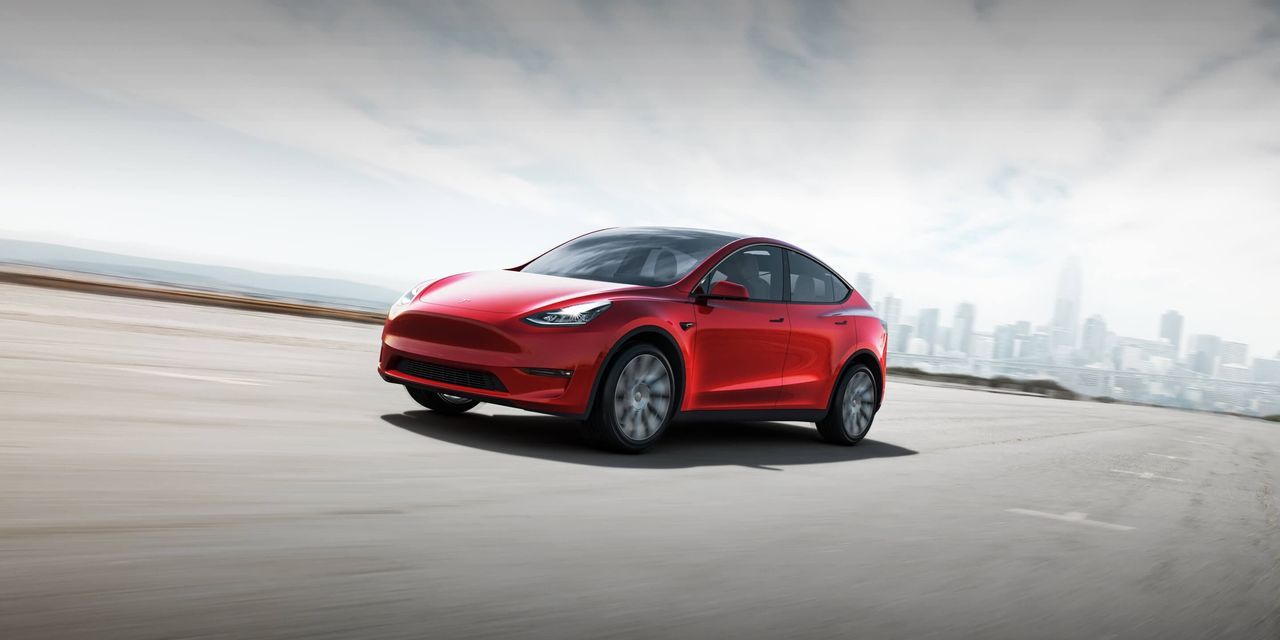 We compare the 2021 Tesla Model Y to the 2021 Jaguar I-Pace