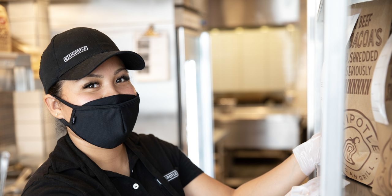 Chipotle says it can offer workers the chance for a six-figure salary in 3 1/2 years