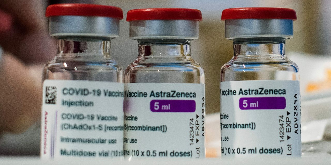 AstraZeneca says Covid-19 vaccine showed no increased incidence of rare blood clots after second dose