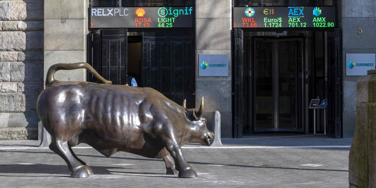 Stocks fall across Europe and Nasdaq futures tumble 1%, as inflation concerns and selloff sentiment spread - MarketWatch