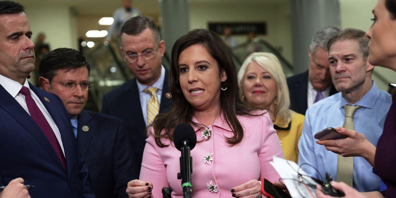 Elise Stefanik becomes No. 3 House Republican, taking Liz Cheney's old job