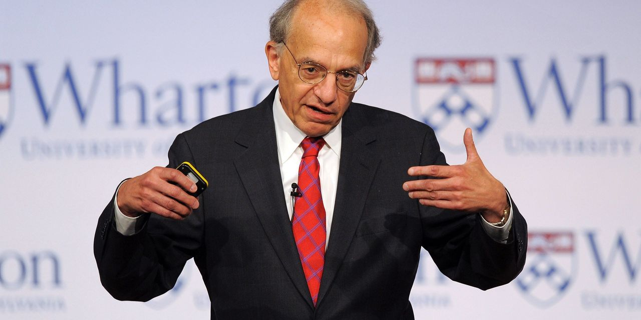 The stock market can 'more than compensate' even if inflation hits 20%, says Jeremy Siegel
