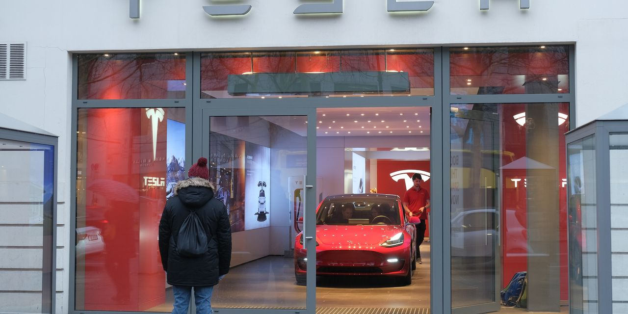 Cathie Wood says Wall Street's valuing Tesla all wrong
