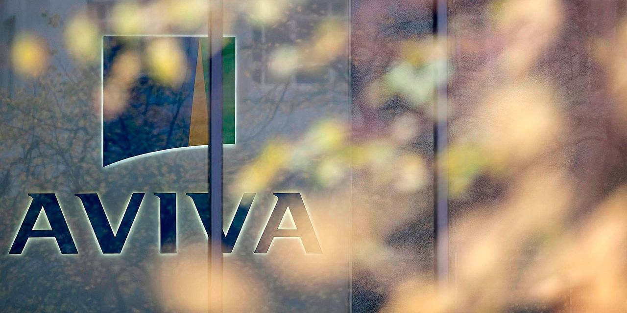 Aviva shares shoot up as activist investor Cevian Capital builds a stake in insurance giant