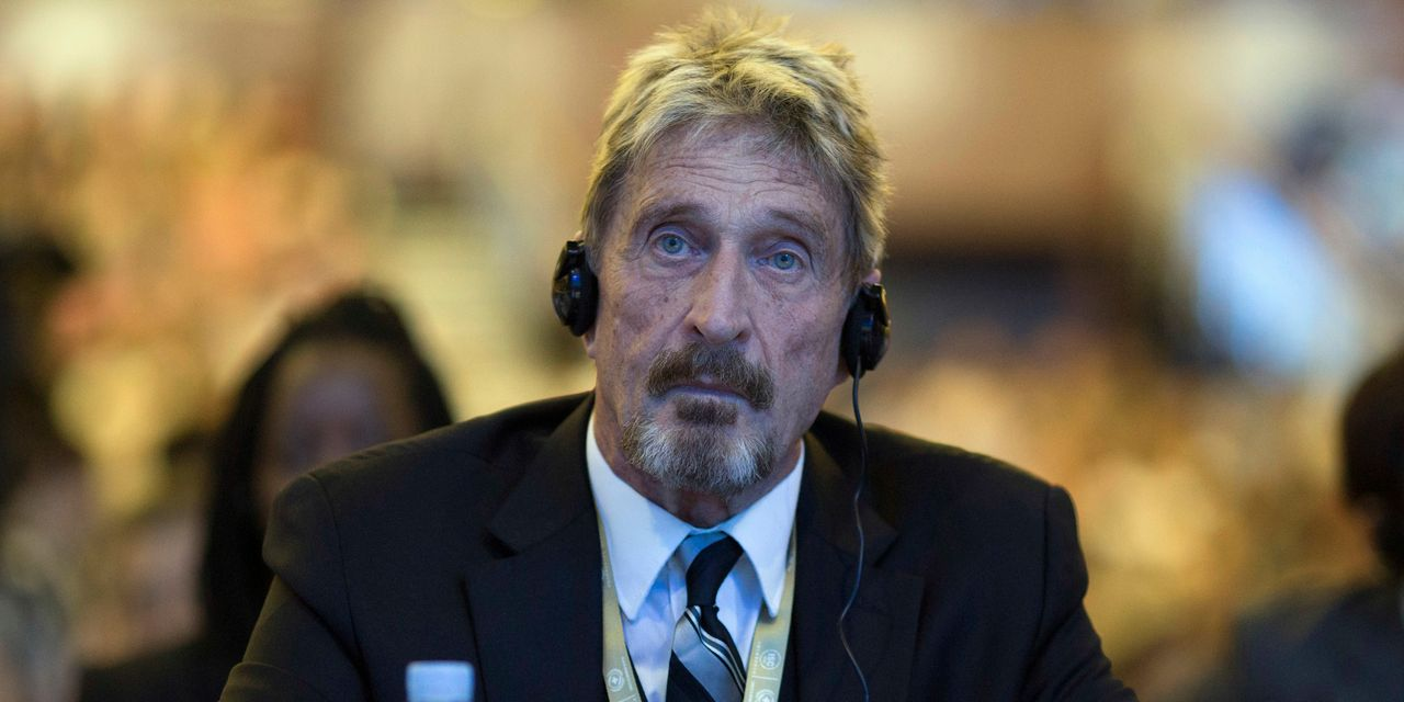 John McAfee fights extradition from Spain to the U.S. for crypto pump-and-dump scam