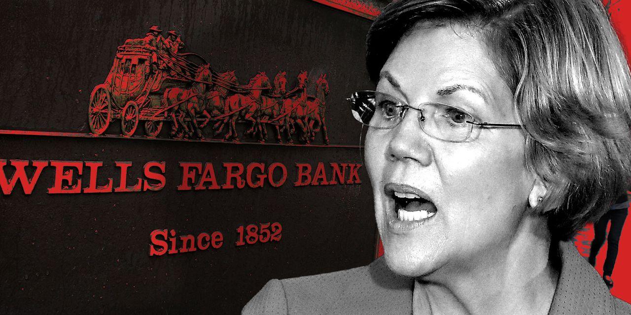 Elizabeth Warren blasts Wells Fargo for ending personal lines of