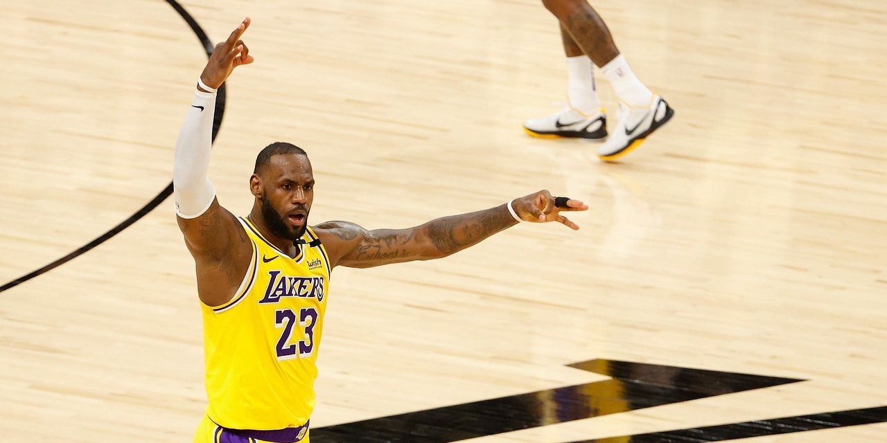 LeBron James is a billionaire — the first U.S. team sport athlete to do it while still playing