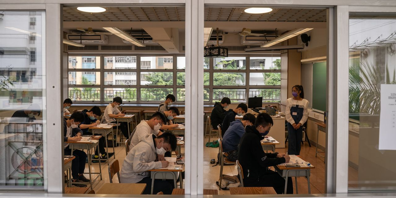 China cracks down on after-school tutoring sector, sending shares sinking