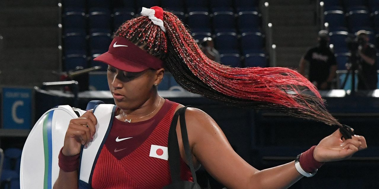Naomi Osaka knocked out of Olympic tennis competition