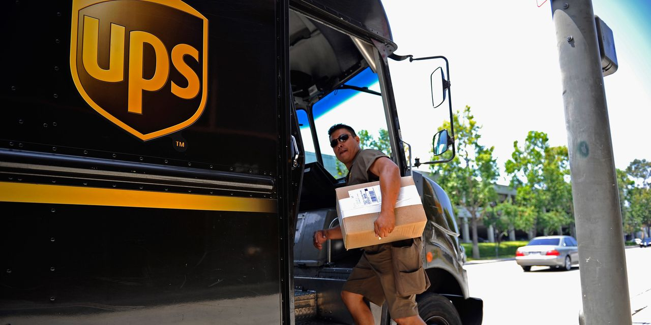 UPS stock dives as earnings beat, but U.S. domestic revenue, outlook come up short