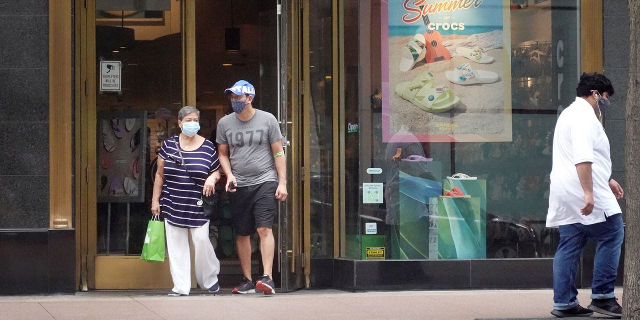 Delta variant and shifting CDC guidance may be stoking demand for face masks