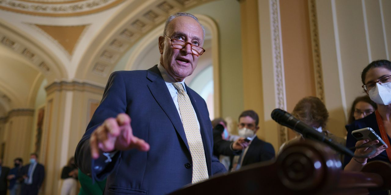 Vote on bipartisan infrastructure bill could come within days, Schumer says