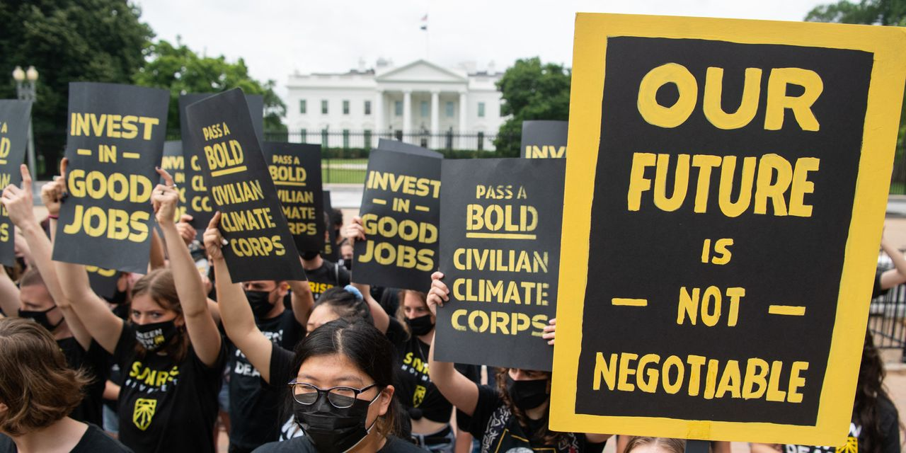 Opinion: Biden should reject the infrastructure plan written by Exxon and invest in saving the climate instead