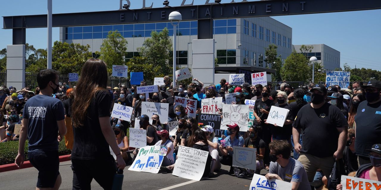 Activision Blizzard hit with federal labor complaint alleging mistreatment of protesting employees