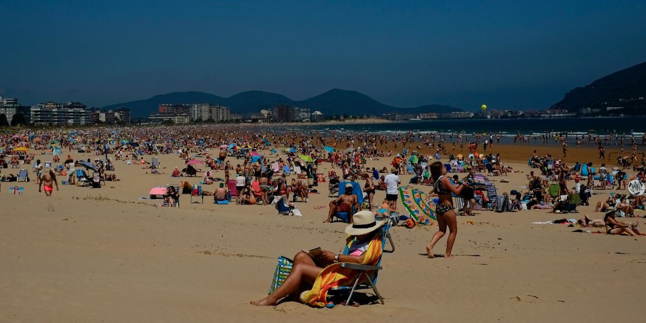 Europe on vacation, but vaccinations not taking a break