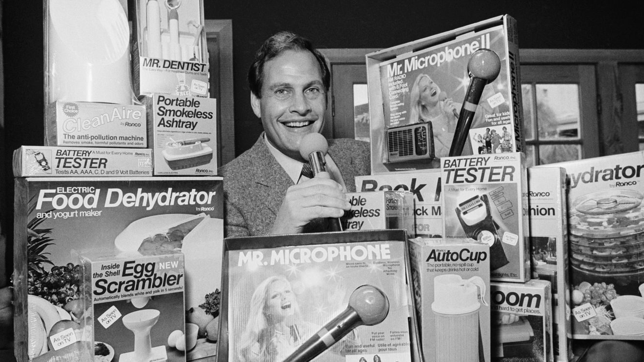 Opinion: Remembering Ron Popeil, the visionary who helped America see the drama in shopping