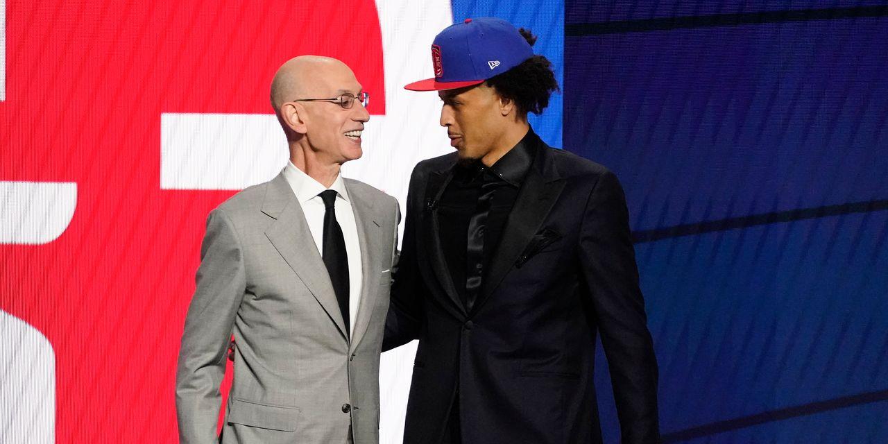 Detroit Pistons nab Cade Cunningham at No. 1 in NBA draft