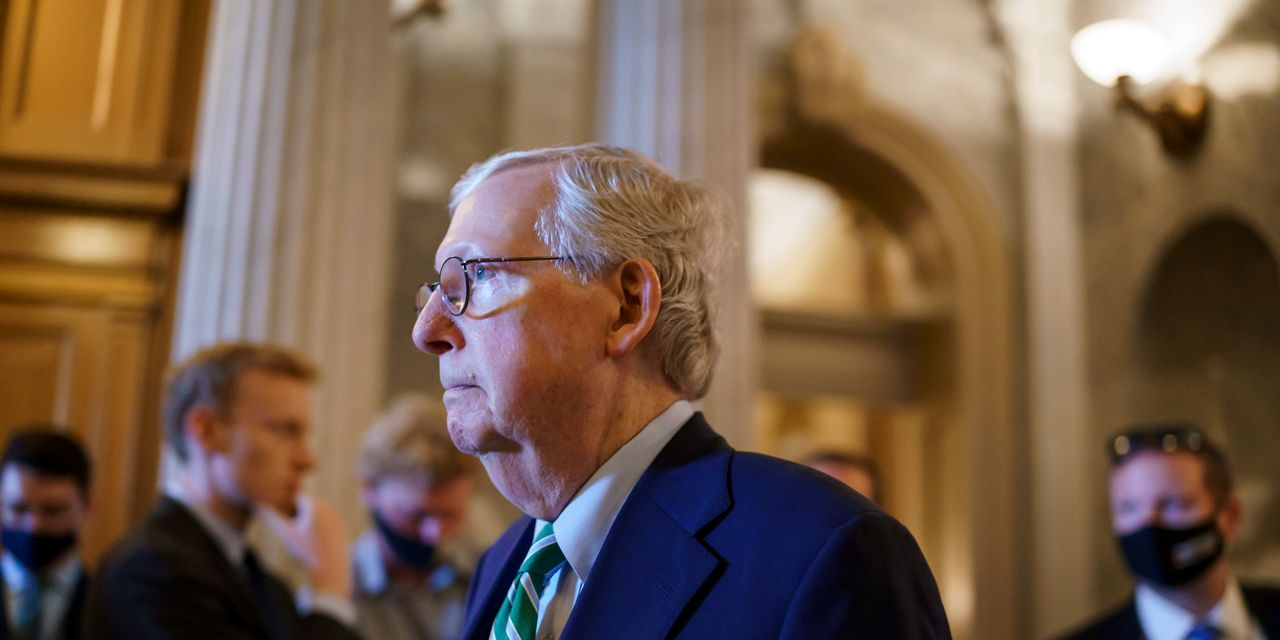 U.S. Senate work on infrastructure plan slides into Saturday
