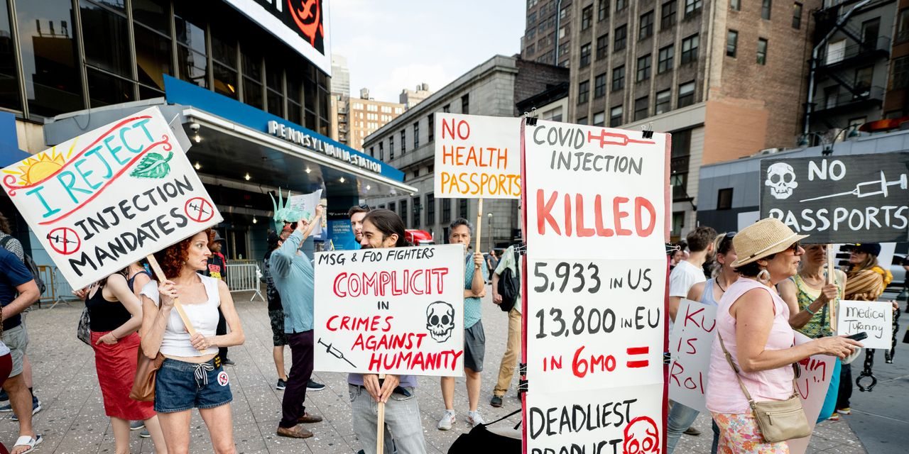 Opinion: Don't want the COVID-19 vaccine? Then pay the full cost if you land in the hospital