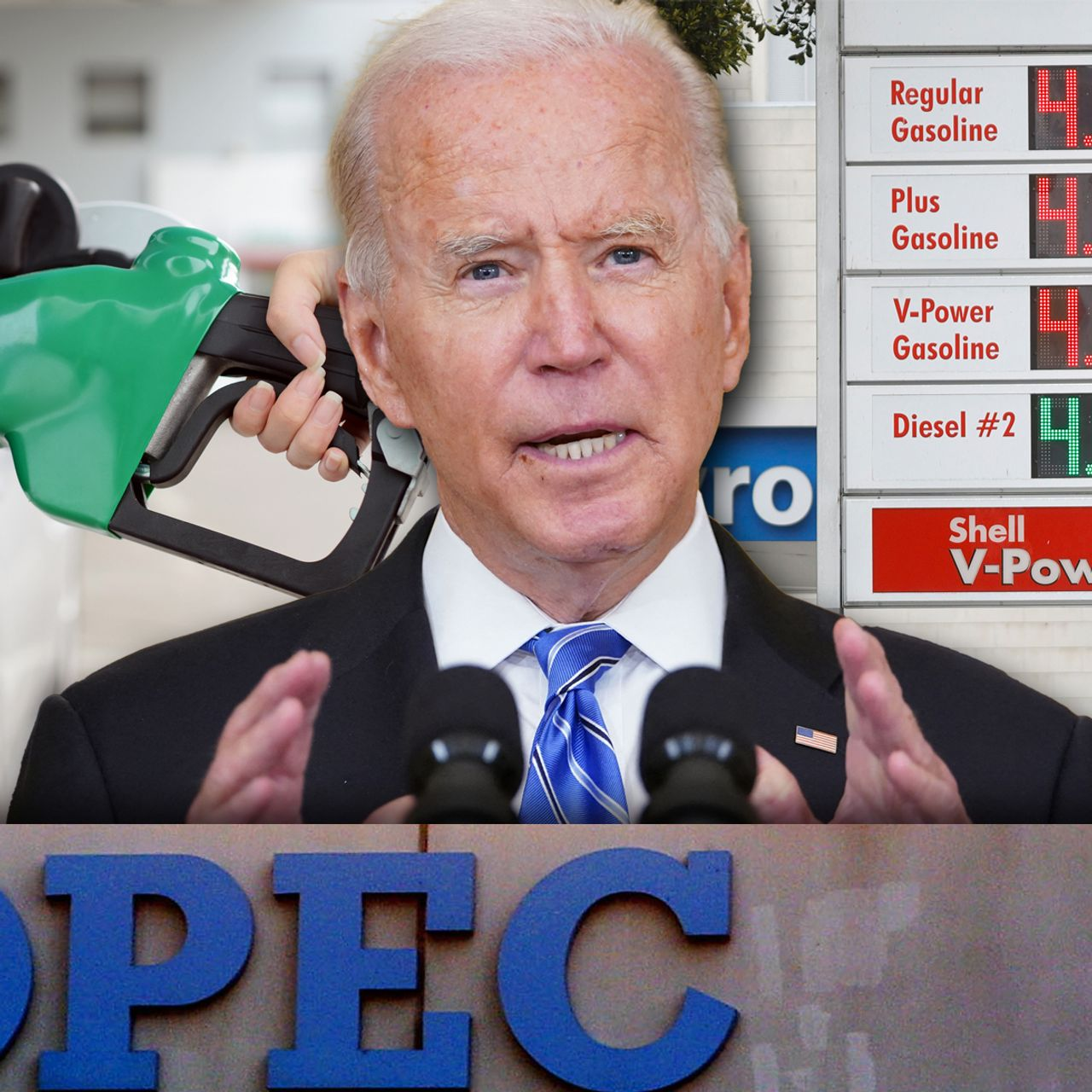 Biden says OPEC must raise oil output to 'lower prices for consumers' -  MarketWatch