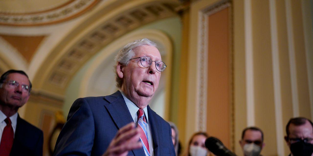 McConnell digging in on debt limit, risking turmoil for Biden