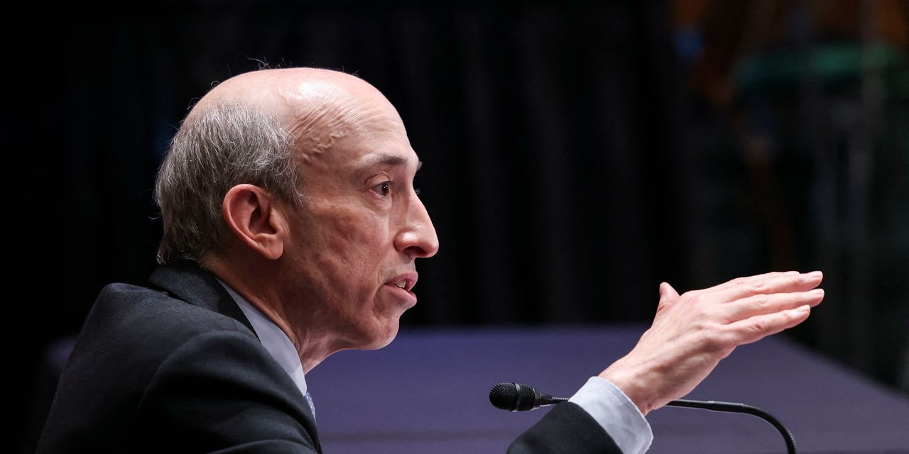 'A lot of people are going to get hurt,' on unregistered crypto exchanges, SEC's Gensler says