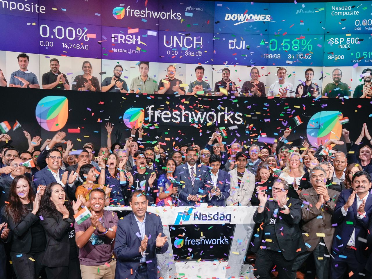 Freshworks stock jumps 20 after IPO raises more than $20 billion ...