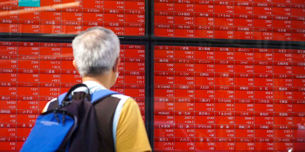Picture - Asian markets mixed as Evergrande concerns linger
