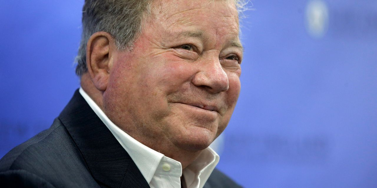 William Shatner's recipe for staying young? Keep hustling