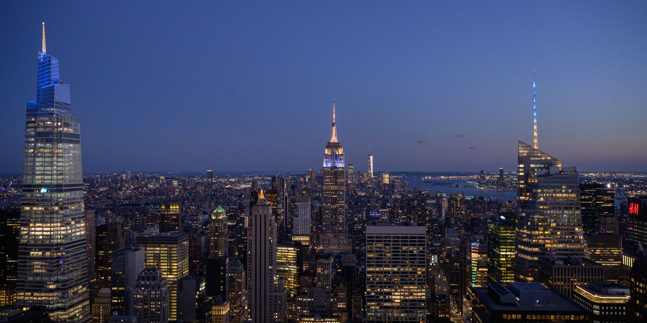 The Tell: New York City's office buildings lost 17% of their value in the...