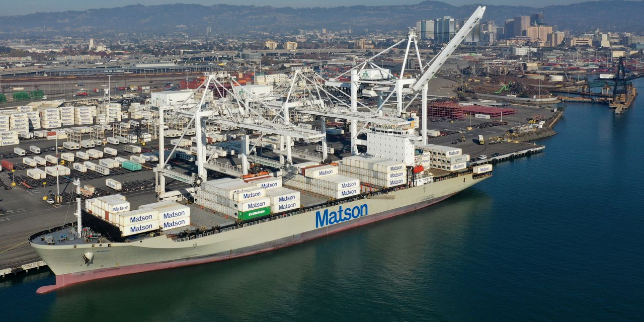 : The huge demand for shipping from China juiced this company's profit, a...