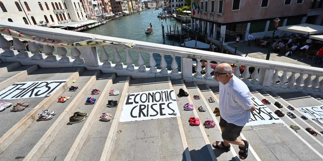 : Risks to global economy from financial markets at a 'worrisome juncture...