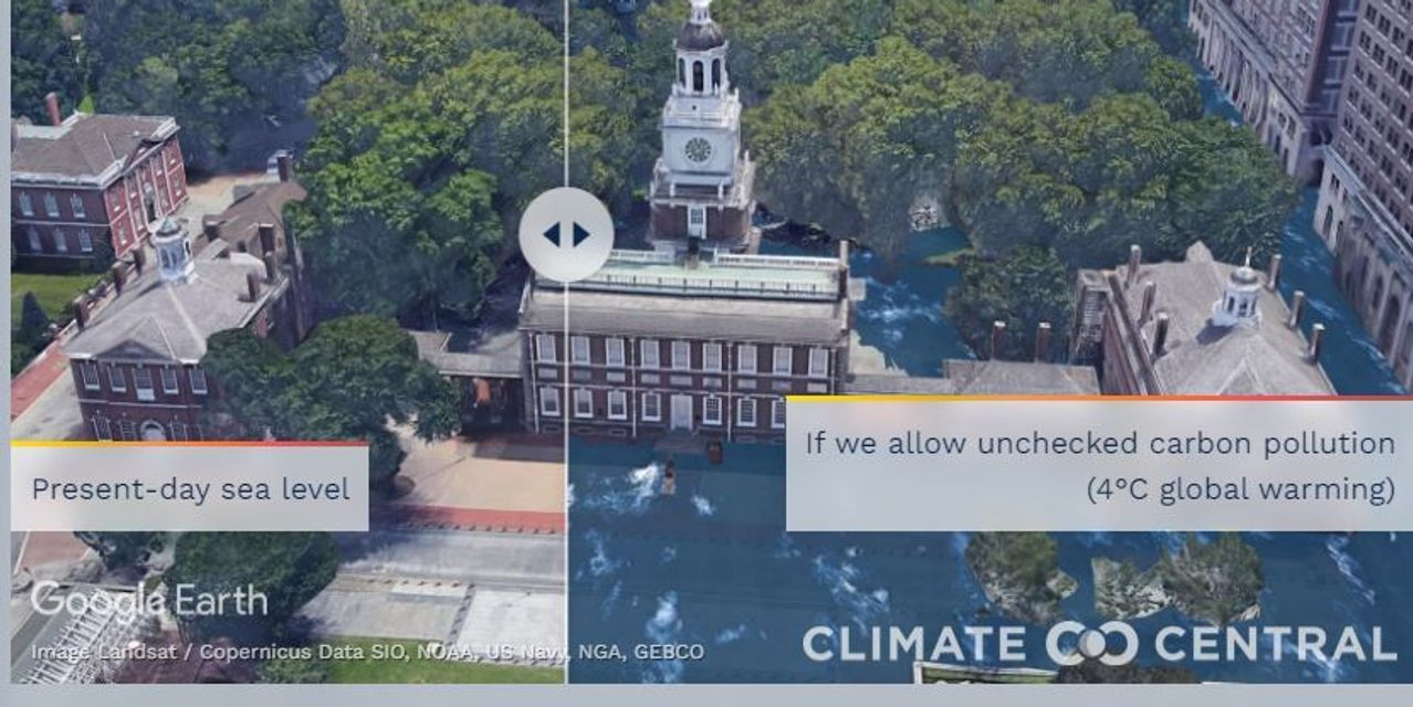 Living With Climate Change: Can't imagine rising seas destroying the Sant...