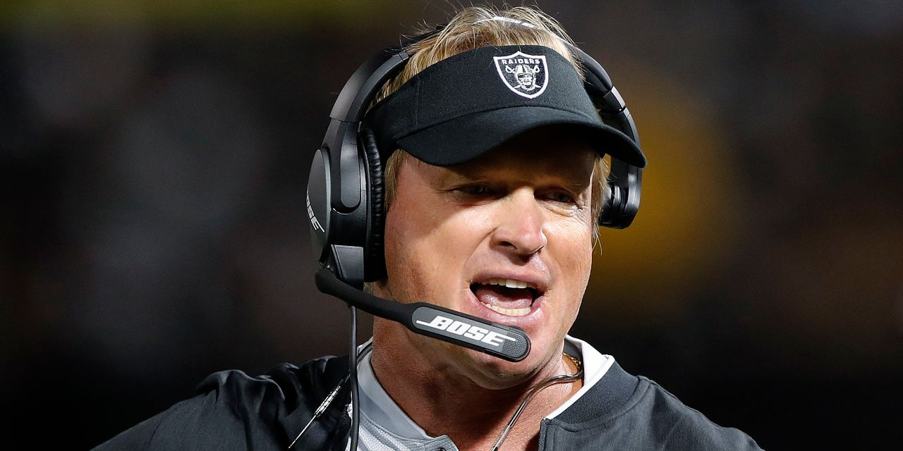 : EA drops Jon Gruden from 'Madden NFL 22' videogame